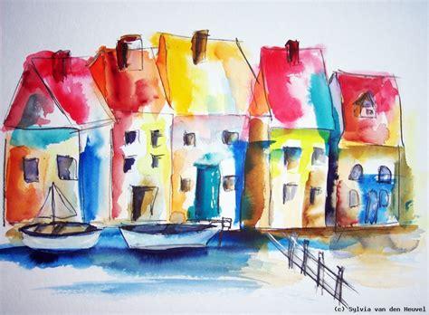 Moderne Kunst Häuser by Bunte H 228 User Am Fluss Sylvia Den Heuvel At Artists