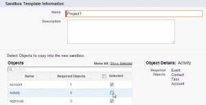 what are sandbox templates salesforce tutorials With salesforce sandbox template