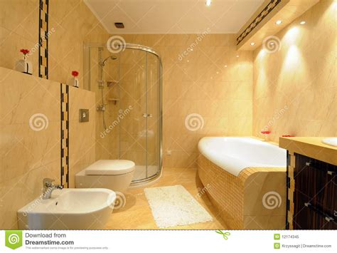 Modernes Badezimmer Stockbild. Bild Von Badezimmer Bad Gestalten Fliesen Granit Obi Linnenbecker Restposten Nrw Müller Homburg Einleger Keine Im Duschbereich Putzen