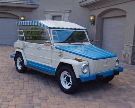 The Volkswagen Thing by 1974 Volkswagen Thing Acapulco Edition For Sale On Bat