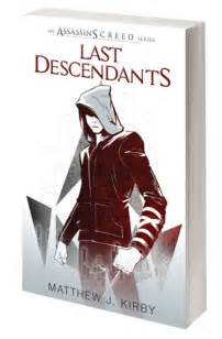 Assassin's Creed Book Series Last Descendants