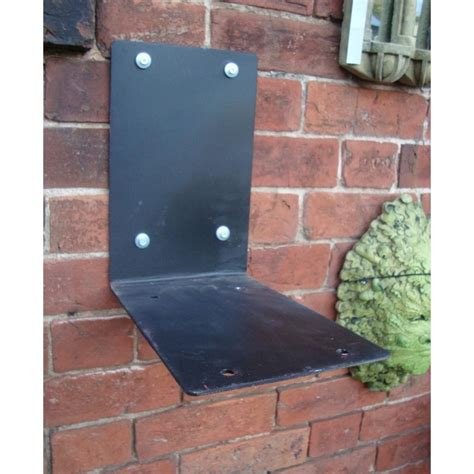 metal wall bracket stand for royal mail post boxes
