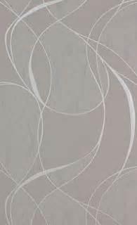 Papier Peint Fushia Pailleté by Papier Peint Gris Aux Lacets Avec Un Effet Mati 232 Re Argent 233