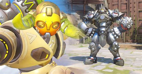 Overwatch Ranking All 8 Tank Heroes Game Rant