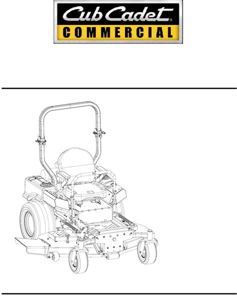 Cub Cadet Mower Deck Belt Problems by Cub Cadet Lawn Mower 48 Inch 54 Inch 60 Inch 72 Inch User