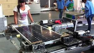 Lower investment of manual solar panel production line ...
