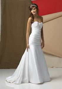 simple white wedding dress With simple white wedding dress