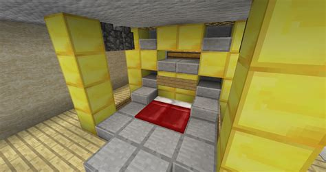 chambre minecraft salle de bain moderne minecraft