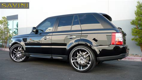 wheels land rover range rover sport savini wheels