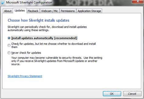 silverlight plugin télécharger windows 7 32 bit