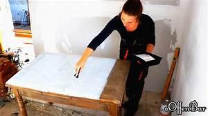 Schreibtisch Shabby Chic Look : diy alten esstisch neu aufbereiten zum schreibtisch shabby ~ Lizthompson.info Haus und Dekorationen
