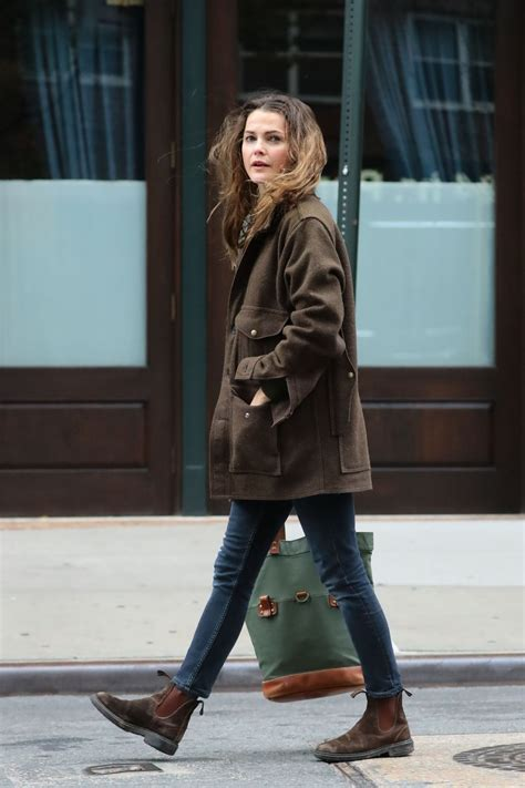 Keri Russell Autumn Style Out Nyc Girl