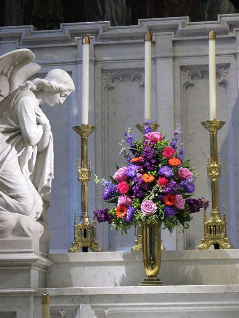 wedding alter flower arrangements images