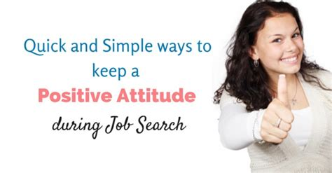 14 simple ways to keep a positive attitude during search wisestep
