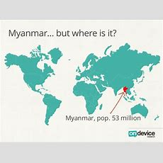 Myanmar… But Where Is It?