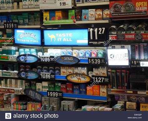 Brands Of Cigarettes Stock Photos & Brands Of Cigarettes