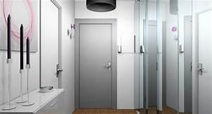 porte accordeon interieur With porte d entrée pvc avec applique murale miroir salle de bain