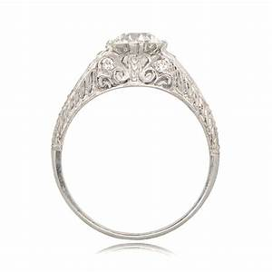 art deco style engagement ring sv 11238 With deco wedding ring