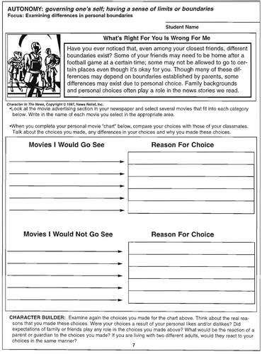 images  setting personal boundaries worksheets