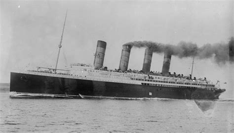 When Did The Sinking Of Lusitania Happen by What Happened To The Liner Lusitania Synonym