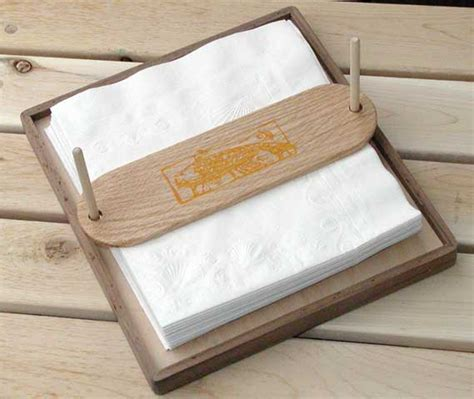 build napkin holder plans woodworking  plans