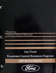 2007 Ford Lincoln Mercury Gasoline Engines Powertrain