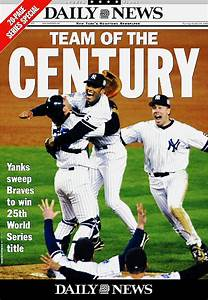 27 Yankees World Series titles, 27 Daily News covers ...