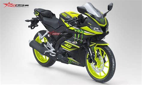 inilah modifikasi striping all new yamaha r15 black energy motoblast