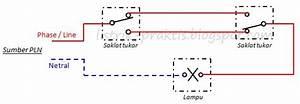 Cara Mudah Kontrol 1 Lampu Penerangan Tangga Dari 2 Tempat