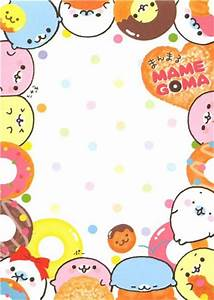 The gallery for --> Mamegoma Memo Paper