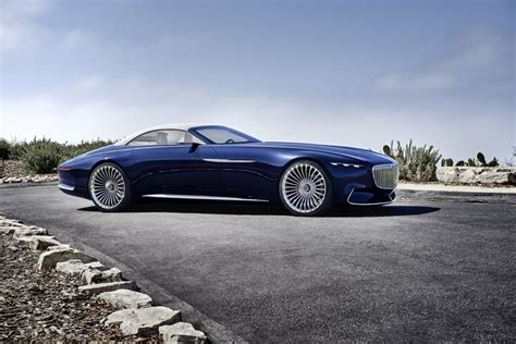 maybach mercedes vision mercedes maybach 6 cabriolet is the future of
