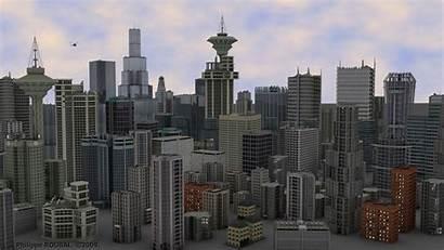 Buildings Management Property 3d Building Synthesis