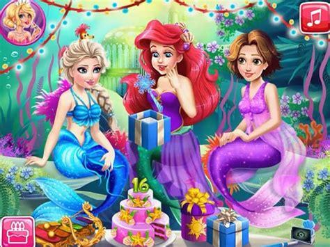 jeux de cuisine de papa louie joue à mermaid birthday gratuit sur pomu fr