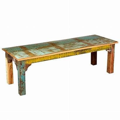 Bench Rustic Wooden Wood Benches Reclaimed Distressed
