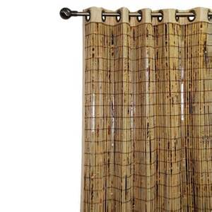 target side window curtains bamboo grommet curtain panel target