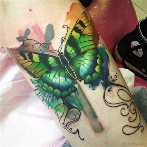 ravishing butterfly tattoos  arm