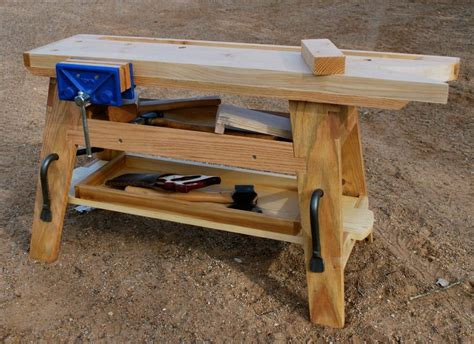 portable  bench mini workbench  george crawford
