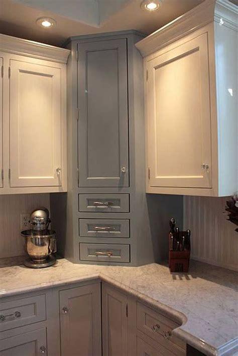 practical kitchen corner storage ideas shelterness