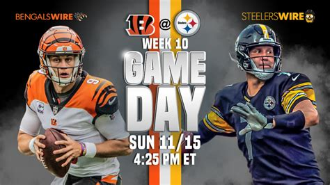 steelers game day guide bengals preview