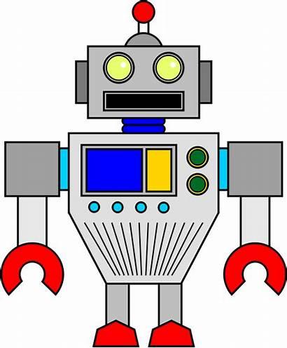Robot Clipart Random Rectangle Openclipart Transparent Techimpact
