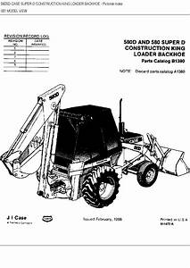 Case 580d Parts Manual Pdf Download