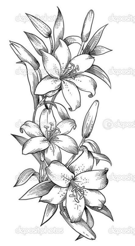 63+ Trendy Ideas Embroidery Girl Illustration | Flower