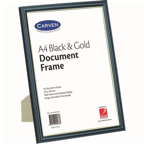 carven document frame  blackgold office national