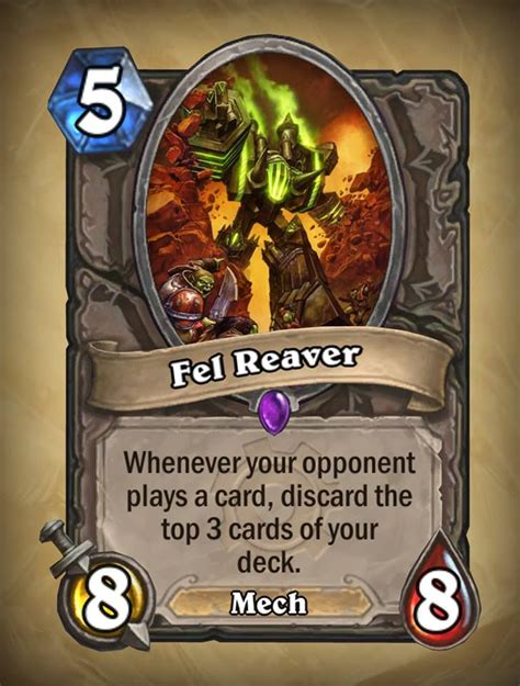 these new hearthstone cards are going to leave me screaming in frustration polygon