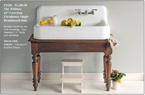 top mount farmhouse sink with drainboard farmhouse drainboard sinks retro renovation