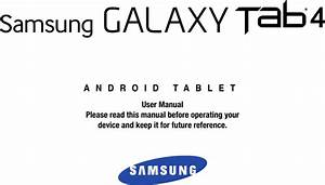 Samsung Galaxy Tab 4 10 1 Sm T530nu Users Manual