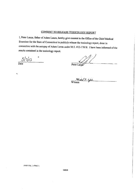 release of mental health records form adam lanza medical records ablechild org