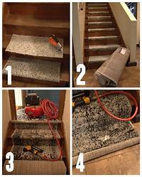 installing carpet on stairs How to Install a Stair Carpet Runner