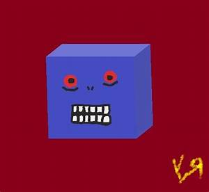 """""""Stupid Cube Monster"""" by Richard F. Yates 