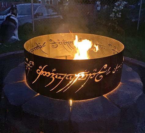 lord   rings fire pit